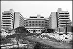 Unfinished abandoned hospital (demolished)